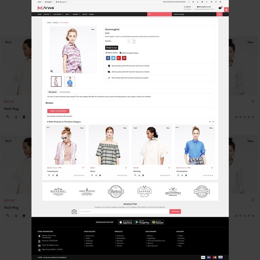 theme - Fashion & Shoes - Marwa Fashion – Xmas Big Fashion Mall - 4