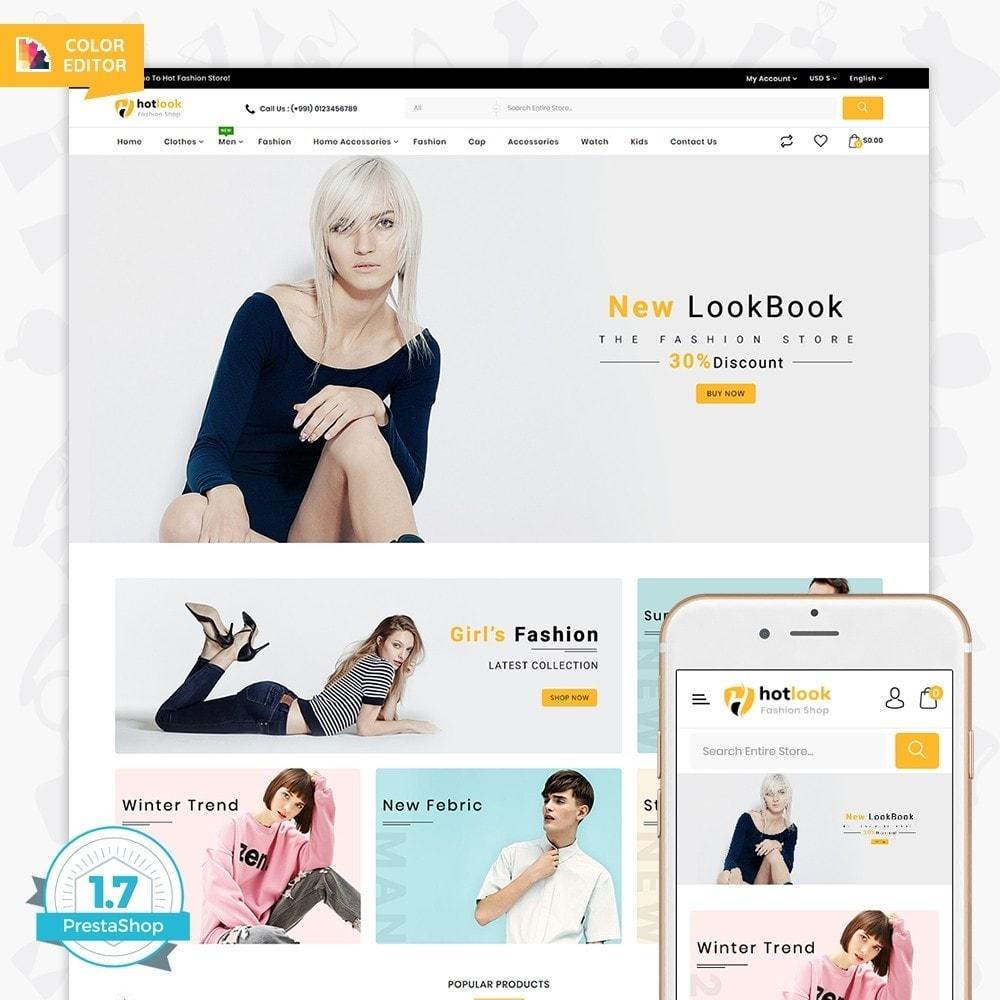 theme - Fashion & Shoes - HotLook - The Fashion Shop - 1
