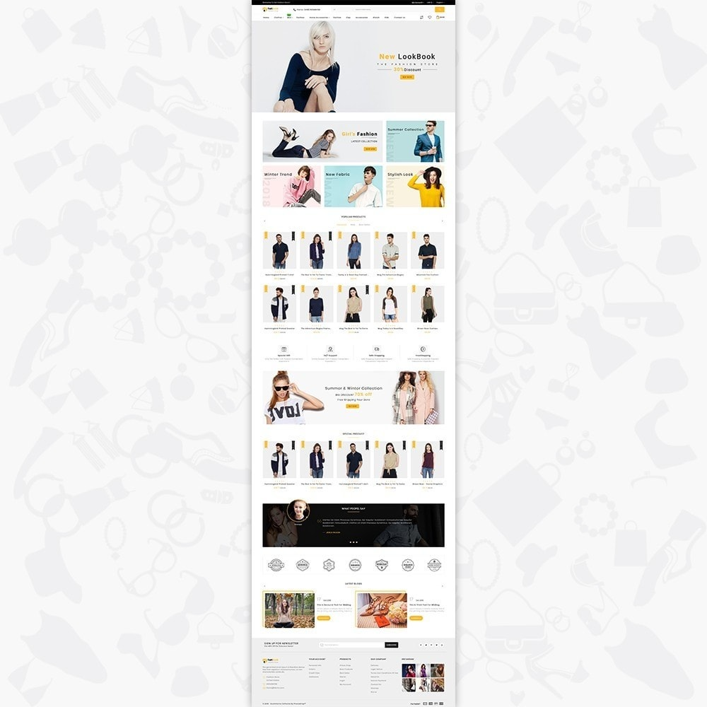 theme - Fashion & Shoes - HotLook - The Fashion Shop - 2
