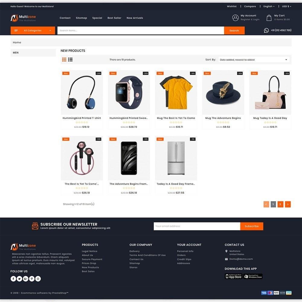 theme - Electronics & Computers - MultiZone - The Multi Shop - 3