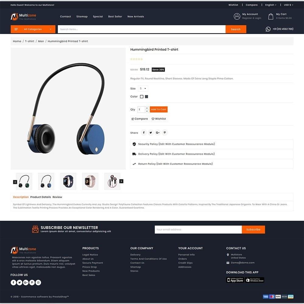 theme - Electronics & Computers - MultiZone - The Multi Shop - 5