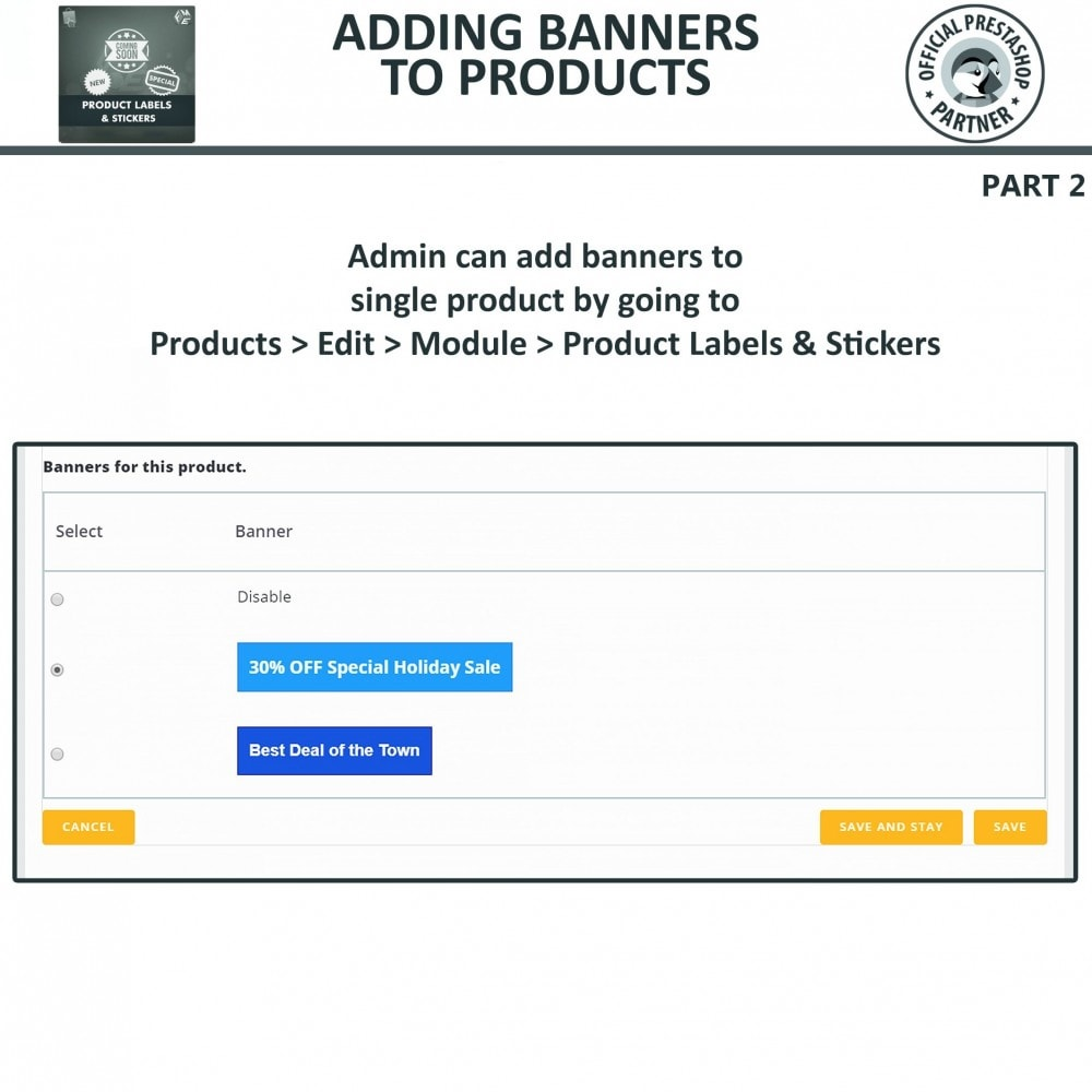 module - Badges & Logos - Product Labels & Stickers - 17