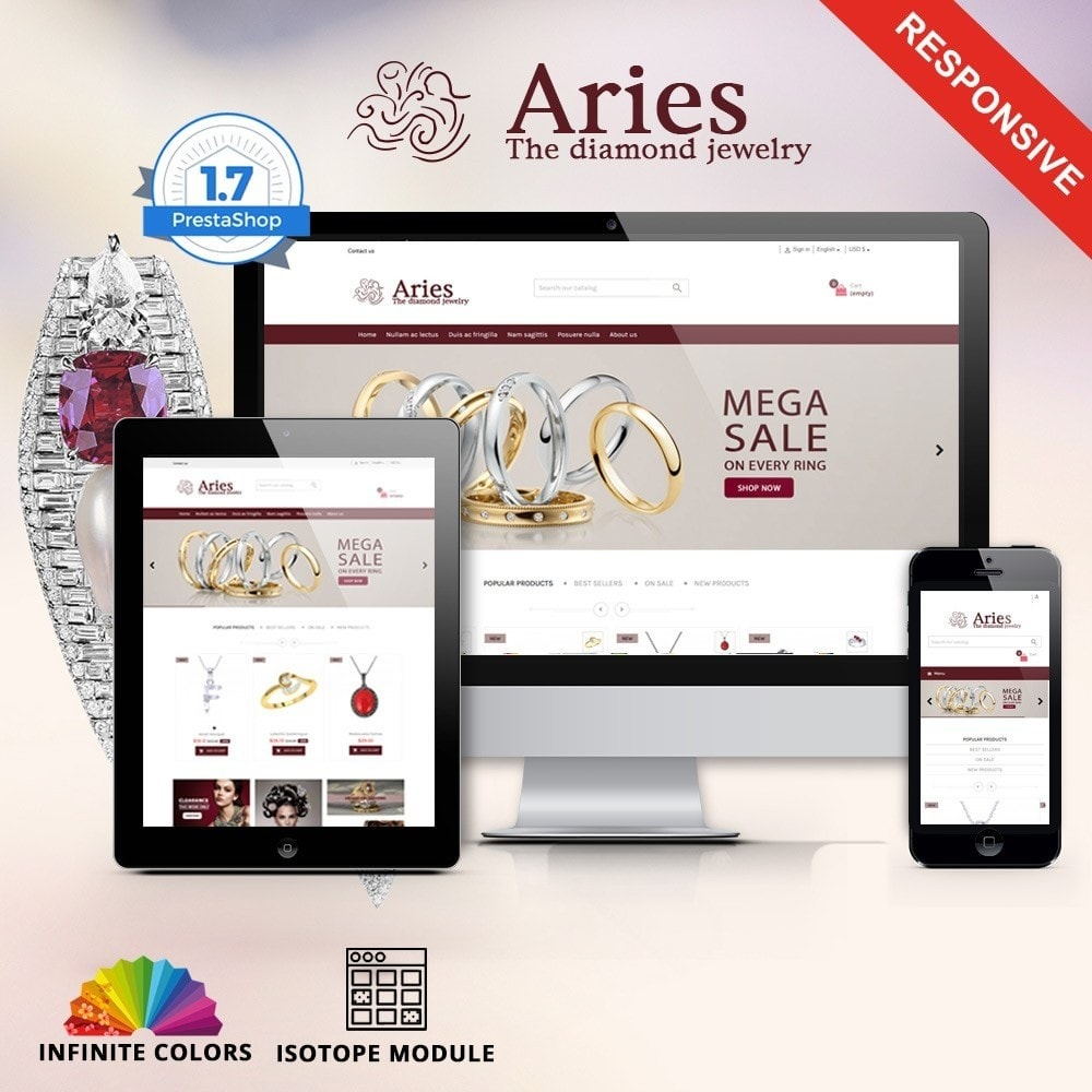 theme - Joalheria & Acessórios - Aries - Jewelry premium - 1