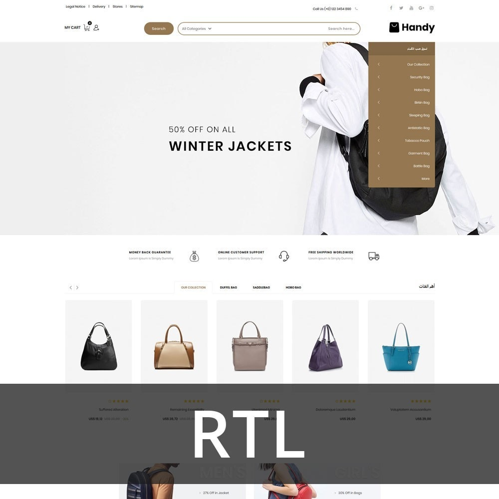 theme - Mode & Schuhe - Handy Bag - The Bag Store - 3