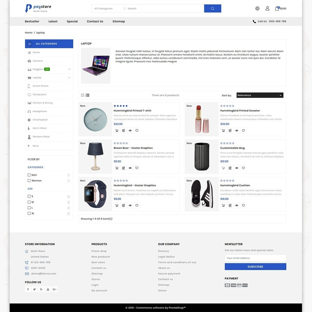theme - Eletrônicos & High Tech - PayStore - The Mega Ecommerce Store - 4