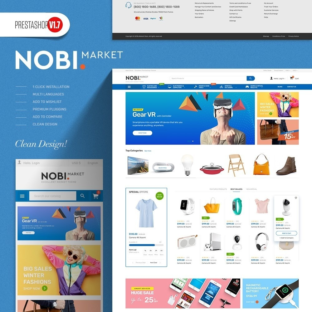 theme - Elettronica & High Tech - Nobi - Supermarket Store - 1