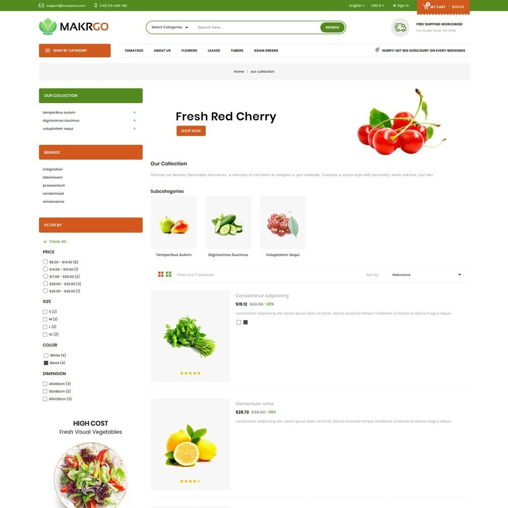 theme - Lebensmittel & Restaurants - Makgro - The Retailer Shop - 5
