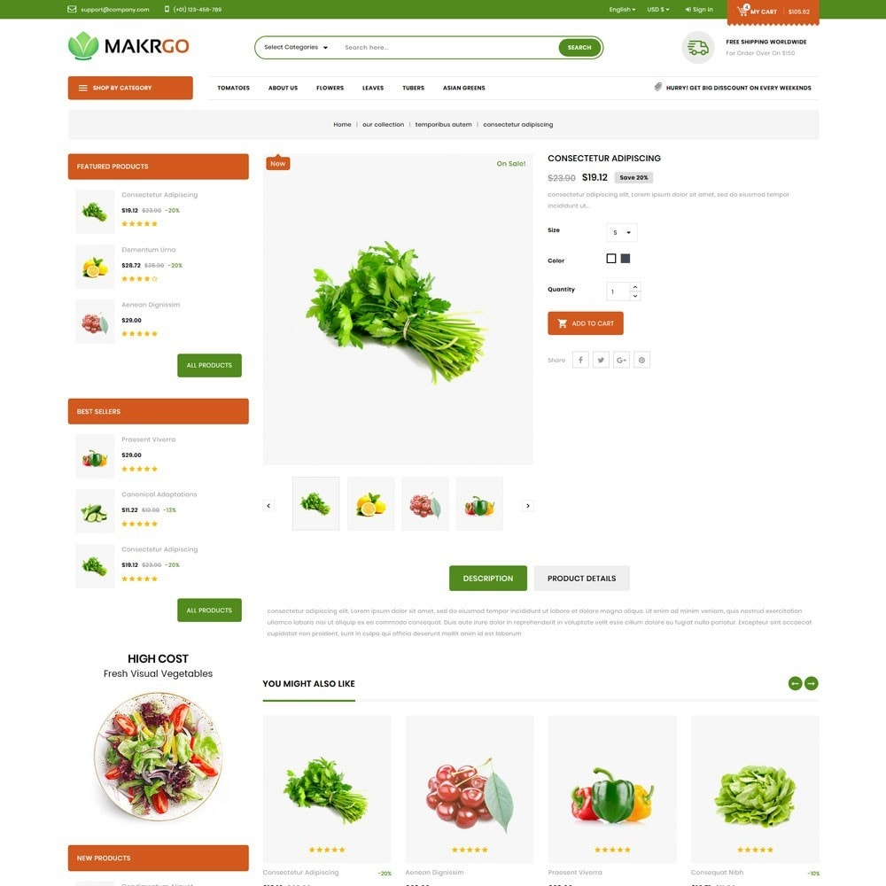 theme - Lebensmittel & Restaurants - Makgro - The Retailer Shop - 6