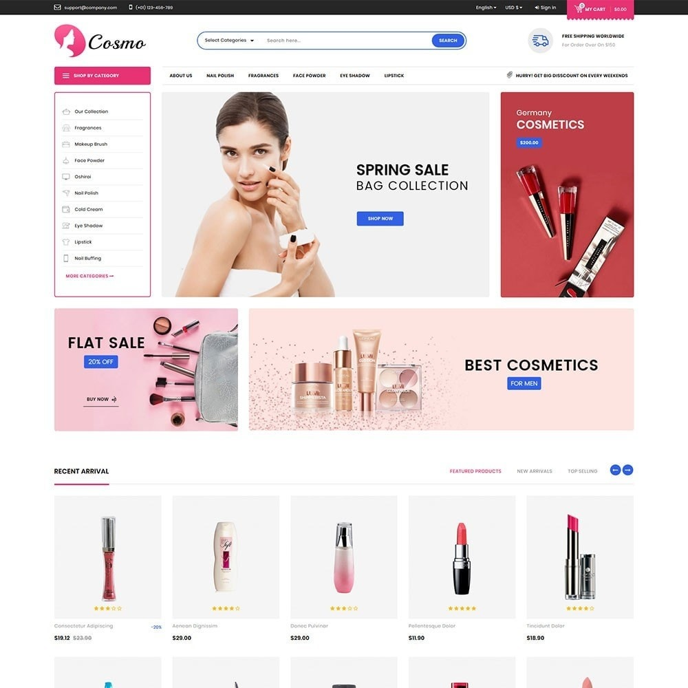 theme - Salud y Belleza - Cosmo - The Cosmetic Mega Store - 2