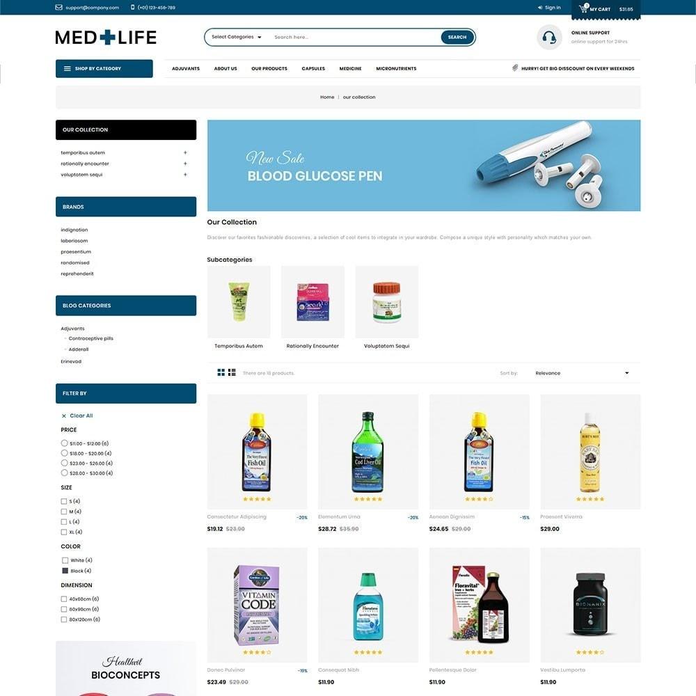 theme - Santé & Beauté - Medlife - The Medical Mega Store - 4