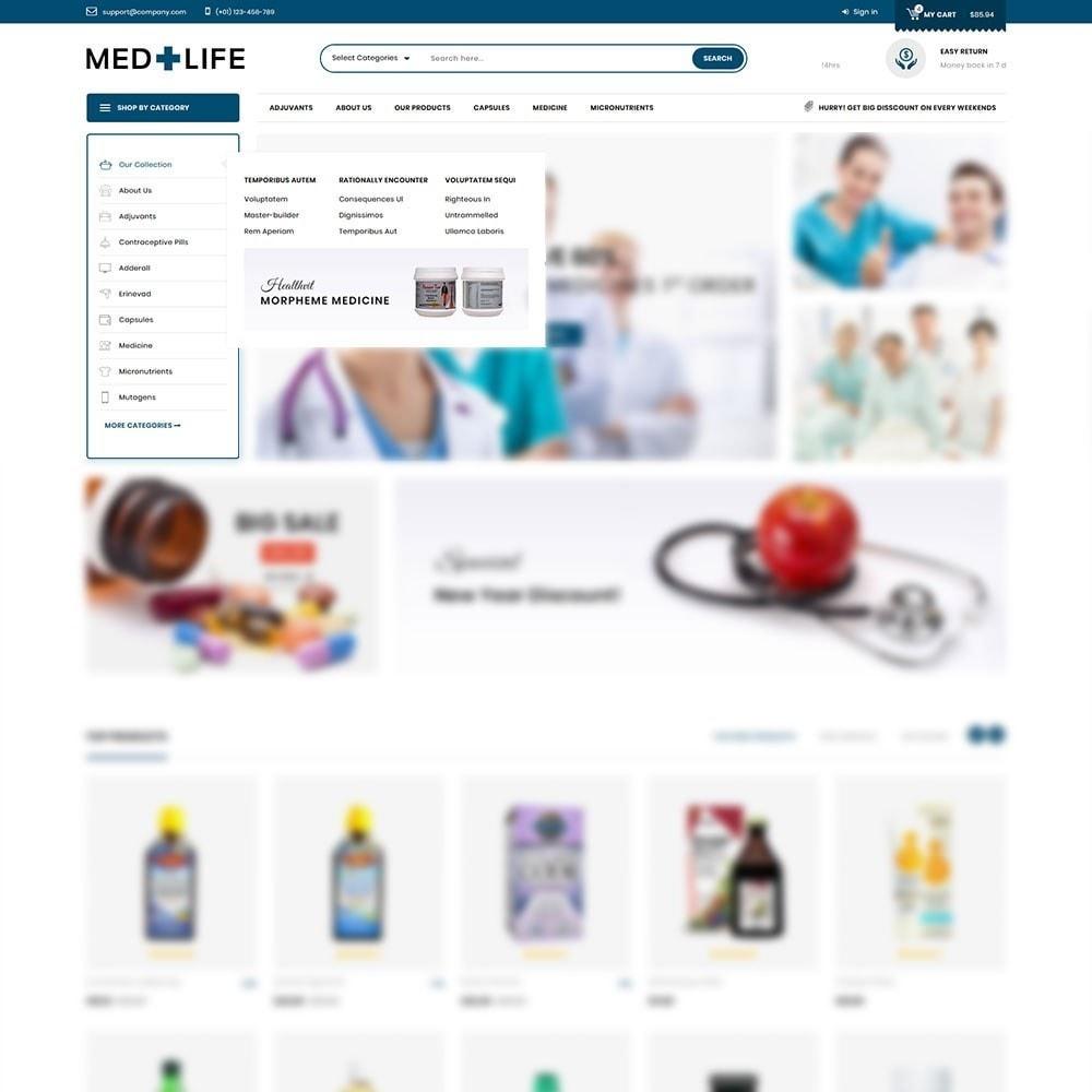 theme - Santé & Beauté - Medlife - The Medical Mega Store - 8