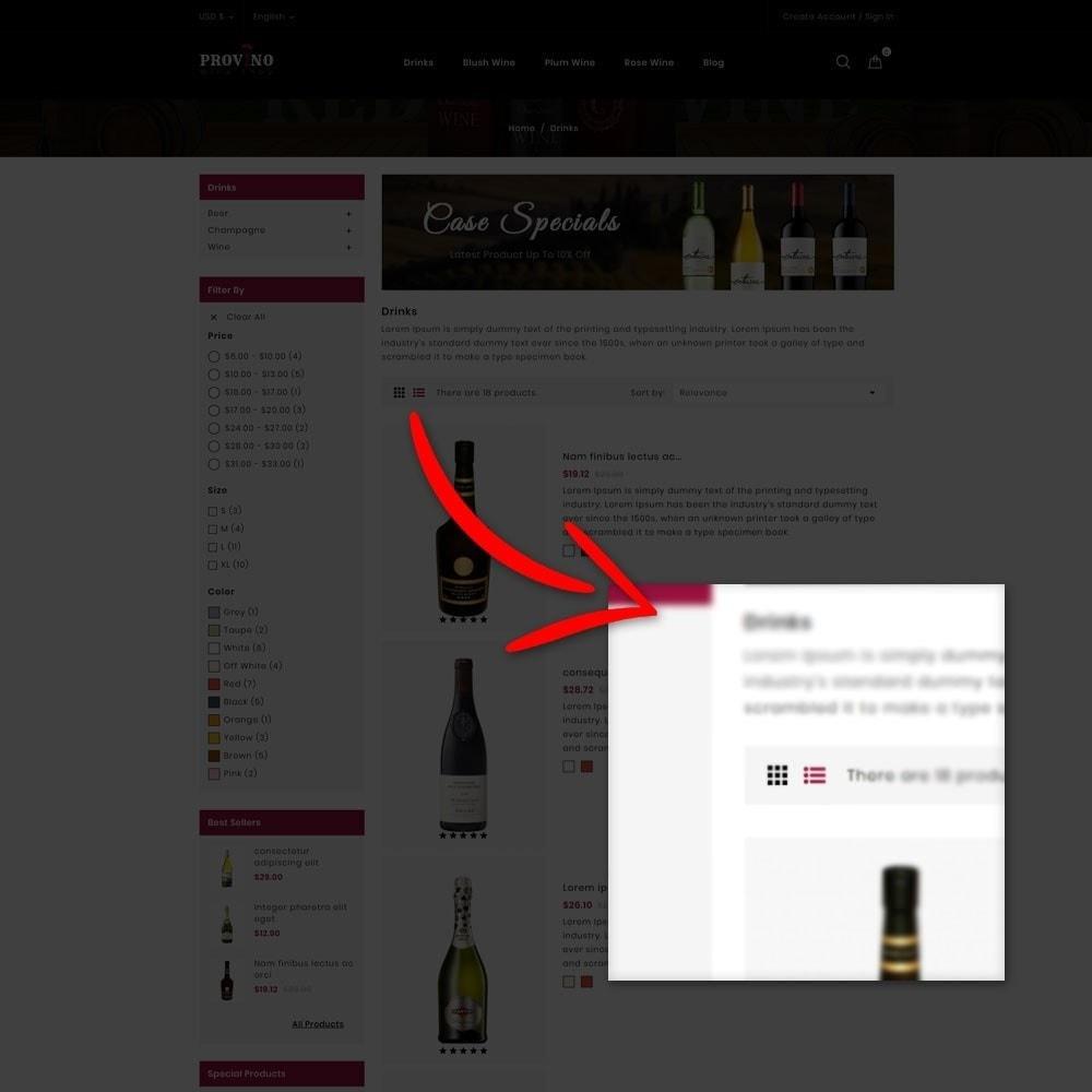 theme - Drink & Tobacco - Provino Wine Store - 5