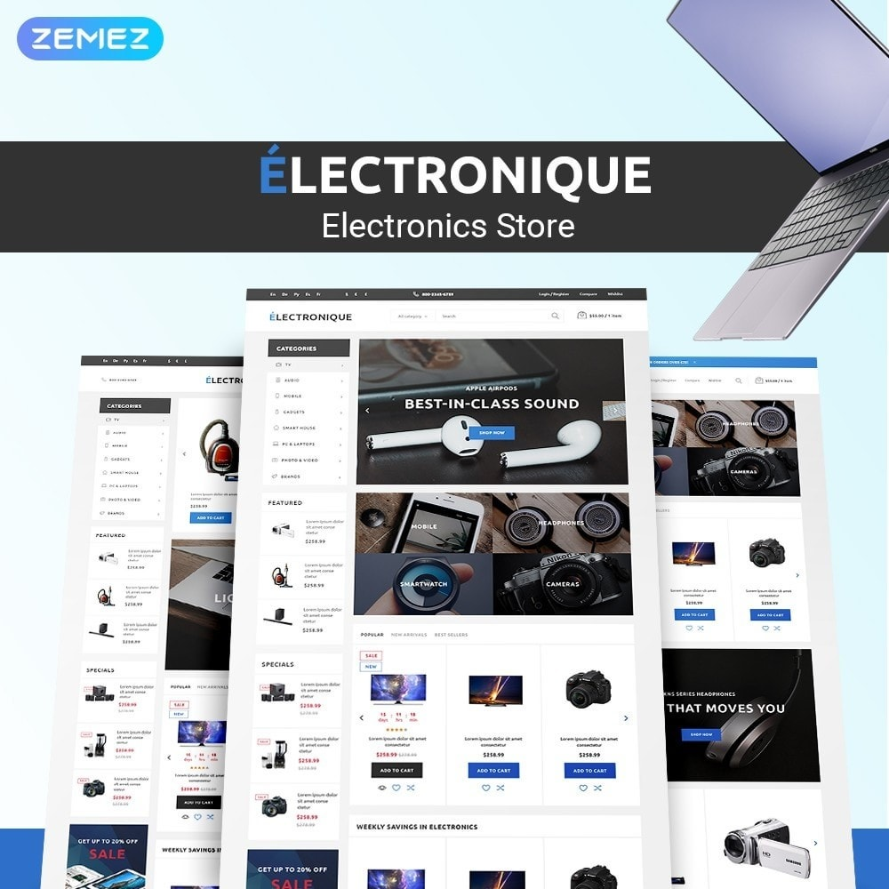 theme - Electronique & High Tech - Electronique - Electronics Store - 1