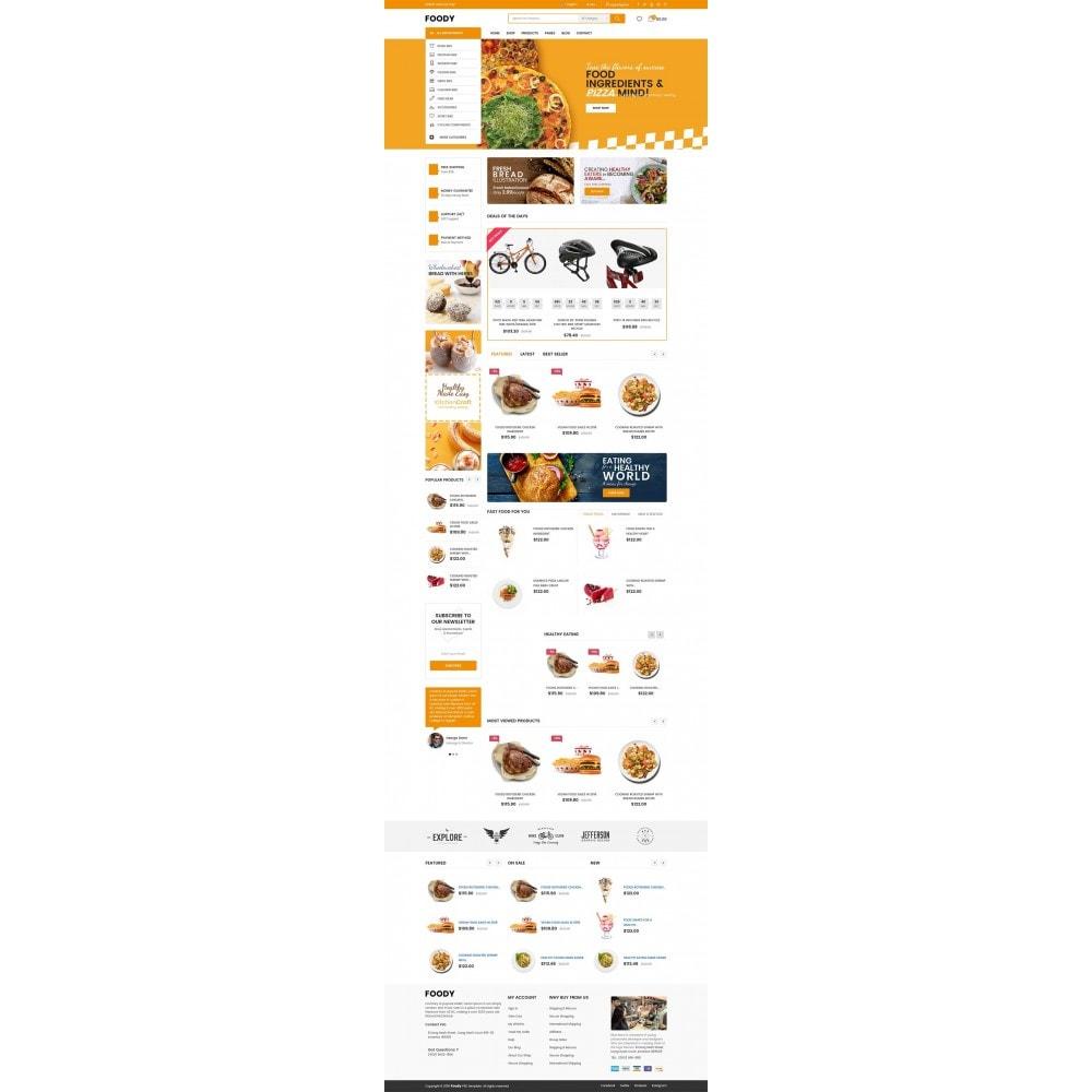 theme - Alimentation & Restauration - Foody - 6