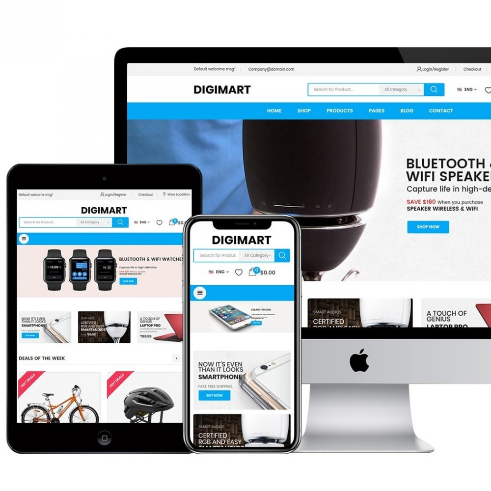 theme - Elektronika & High Tech - DigiMart - 3