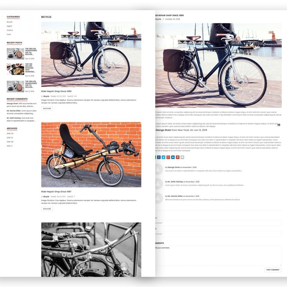 theme - Sports, Activities & Travel - Bicycle - 5