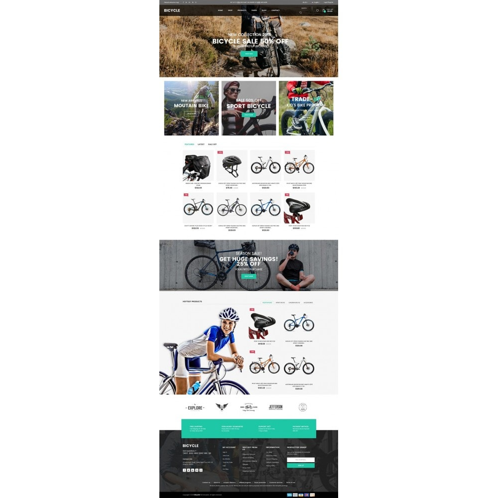 theme - Sports, Activities & Travel - Bicycle - 6