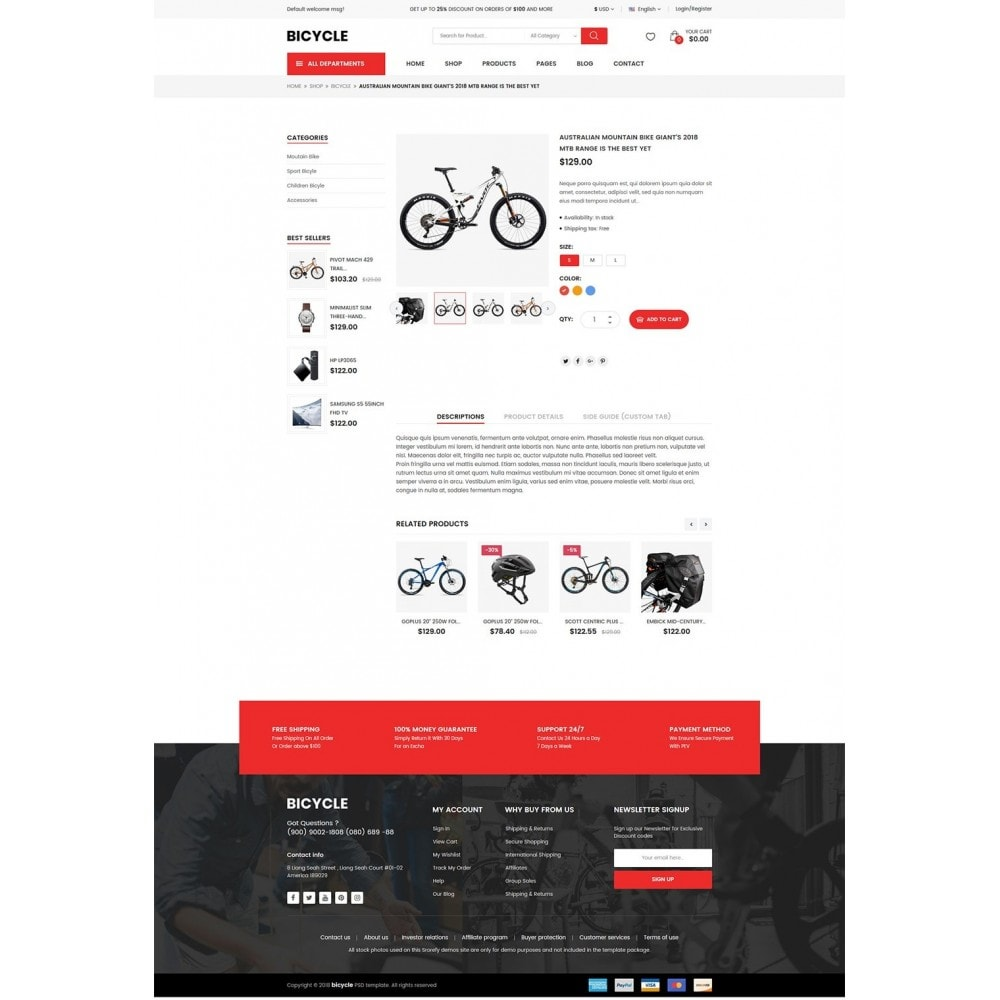 theme - Sports, Activities & Travel - Bicycle - 9