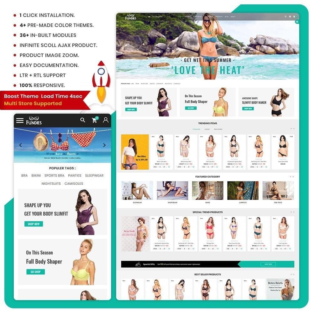 theme - Lingerie & Adult - Lencería Bikini – Bikini Lingerie Shop - 1