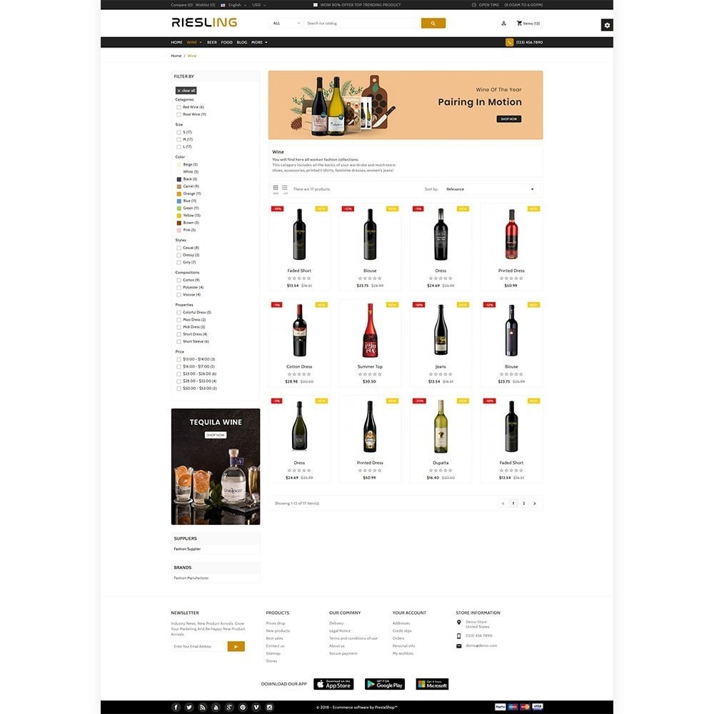 theme - Getränke & Tabak - Riesling - The Wine International Shop - 3