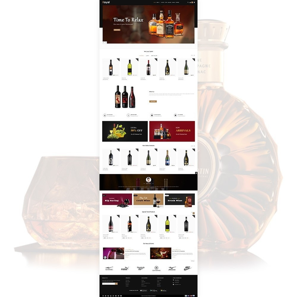 theme - Drank & Tabak - Royal - The Wine International Shop - 2