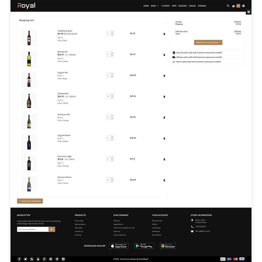 theme - Drank & Tabak - Royal Alcohol–Wine International Store - 4