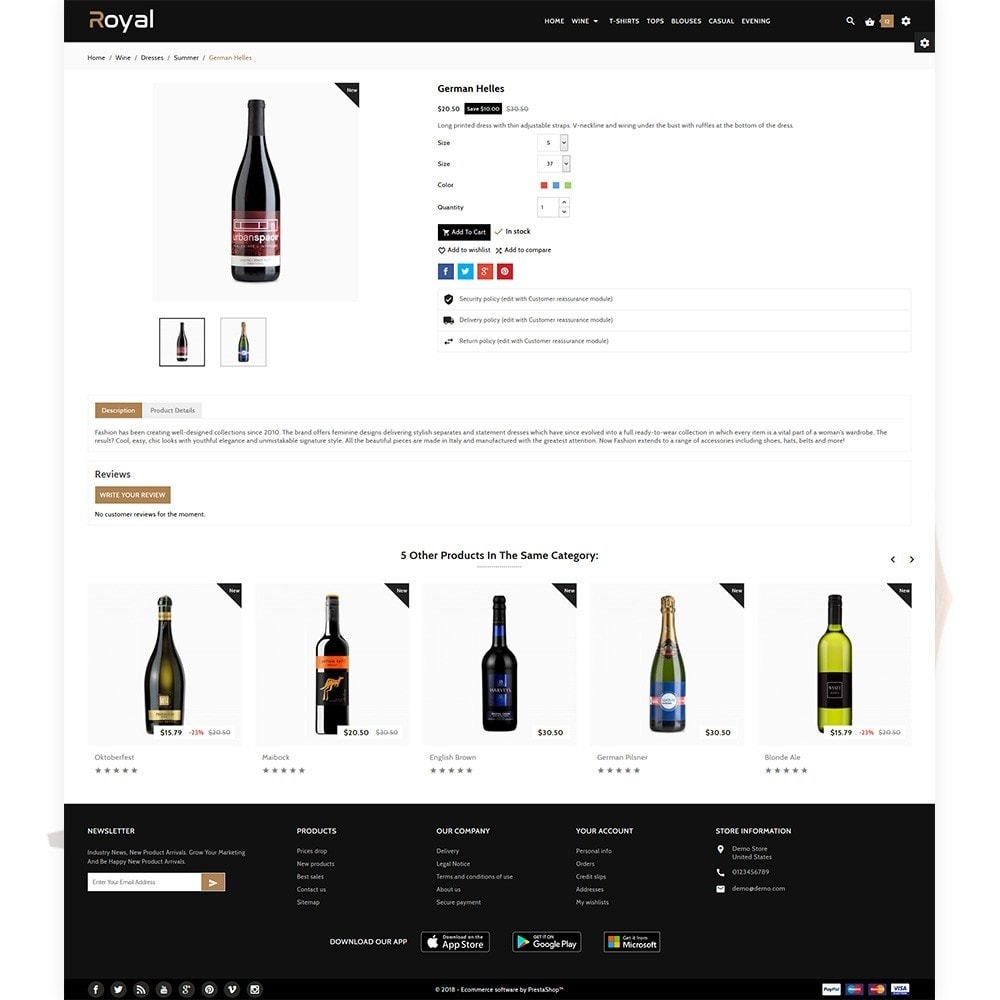 theme - Bebidas y Tabaco - Royal - The Wine International Shop - 5