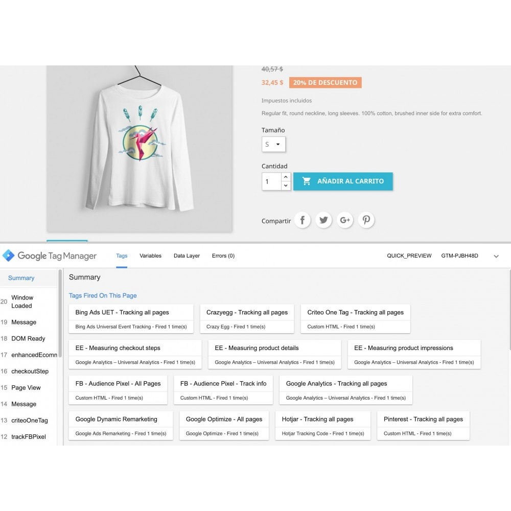 module - Informes y Estadísticas - Google Tag Manager - Google marketing tools - 1