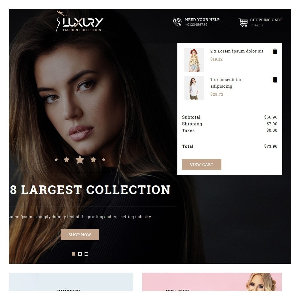 theme - Moda & Calçados - Luxury Minimal Fashion Shop - 7