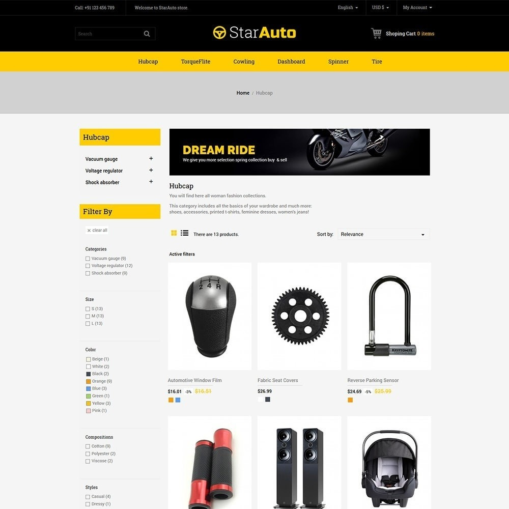 theme - Carros & Motos - Auto - Car Tool Store - 3