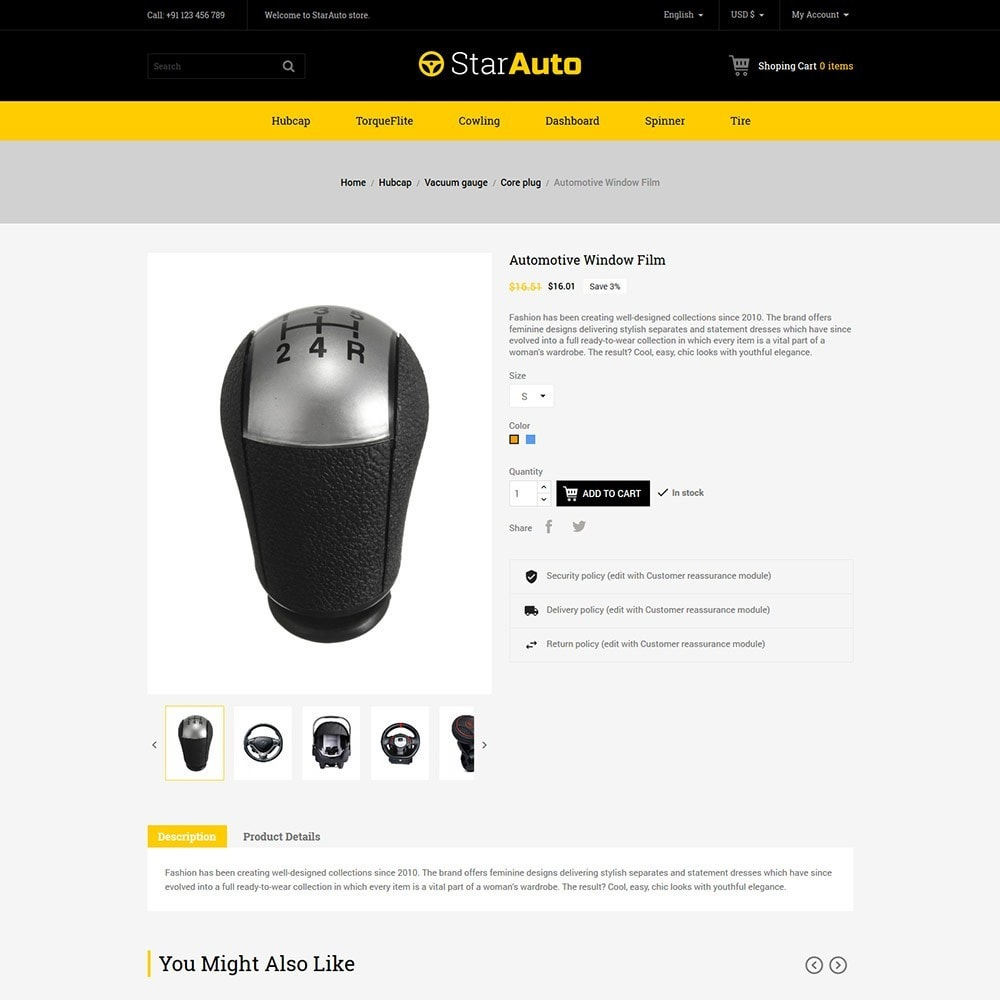 theme - Automotive & Cars - Auto - Car Tool Store - 4