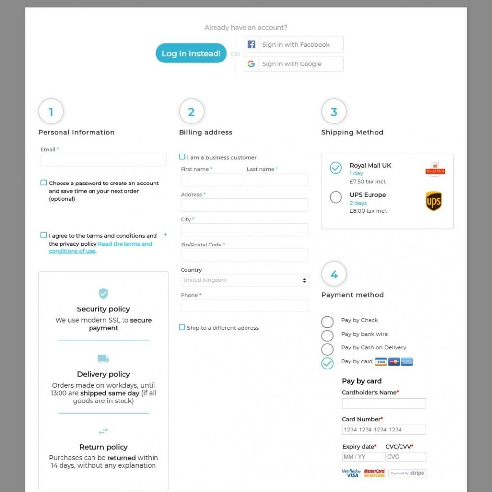 module - Bestelproces - The Checkout - 1