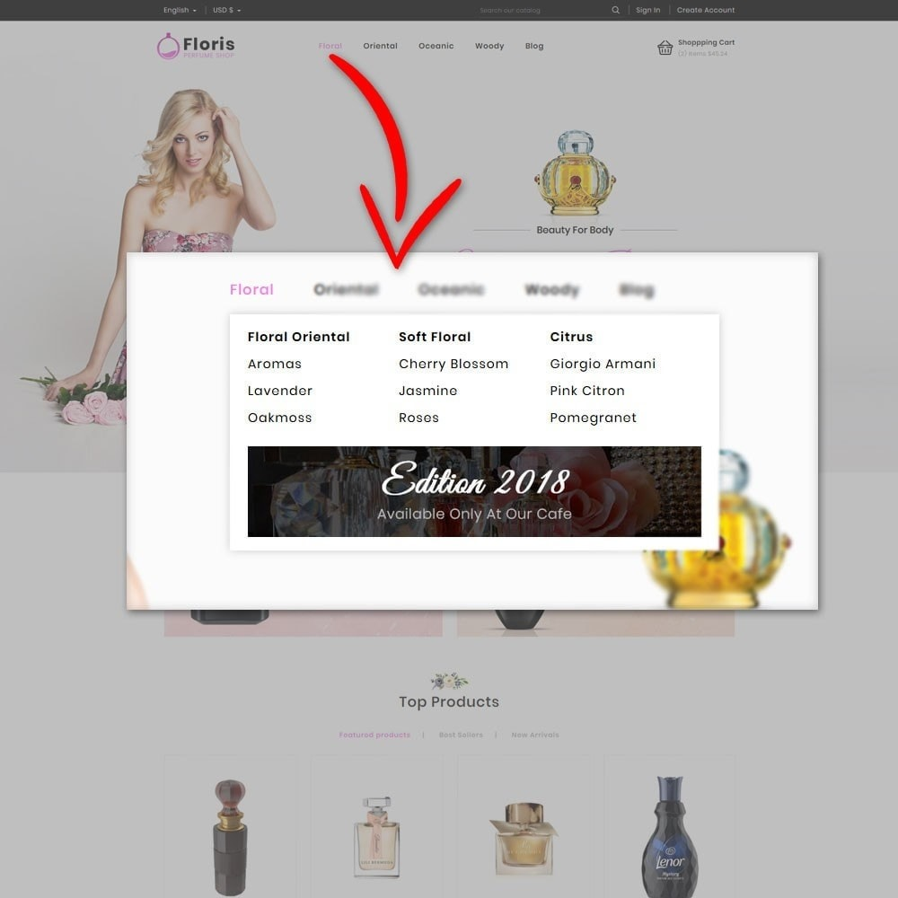 theme - Regali, Fiori & Feste - Floris Perfume Store - 8