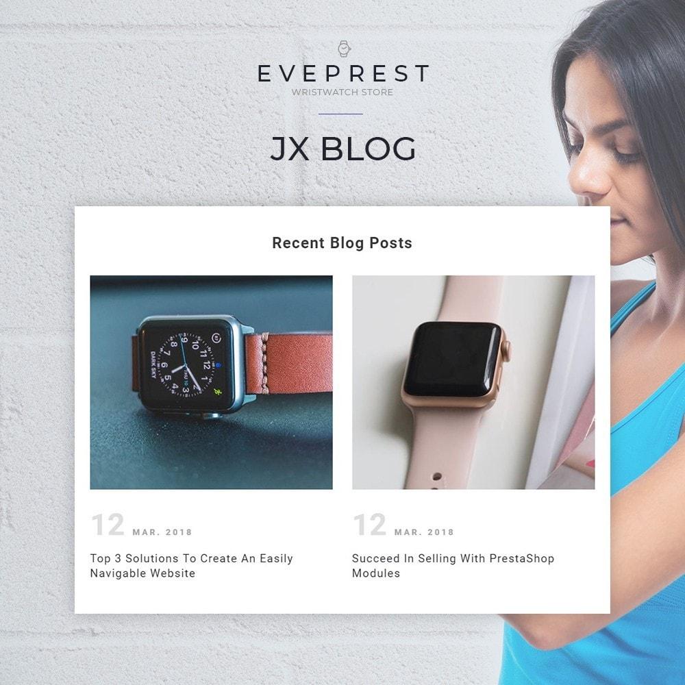 theme - Bijoux & Accessoires - Everprest Wristwatch - Watches Modern Ecommerce - 5
