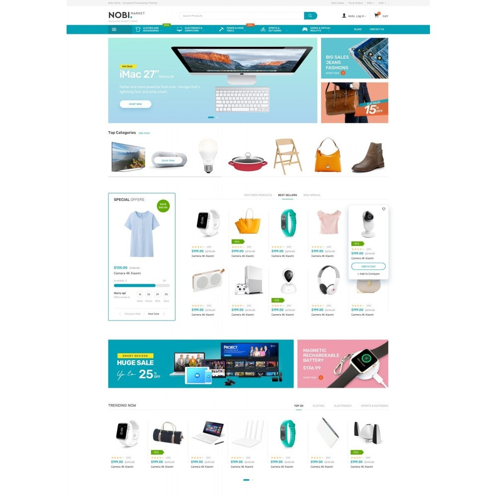 theme - Elektronica & High Tech - Nobi - Electronics Store - 2