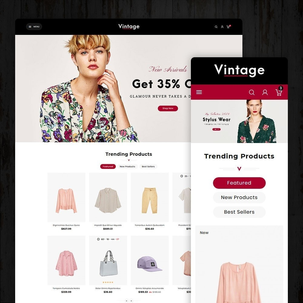 theme - Moda & Calzature - Vintage Fashion Apparels - 1