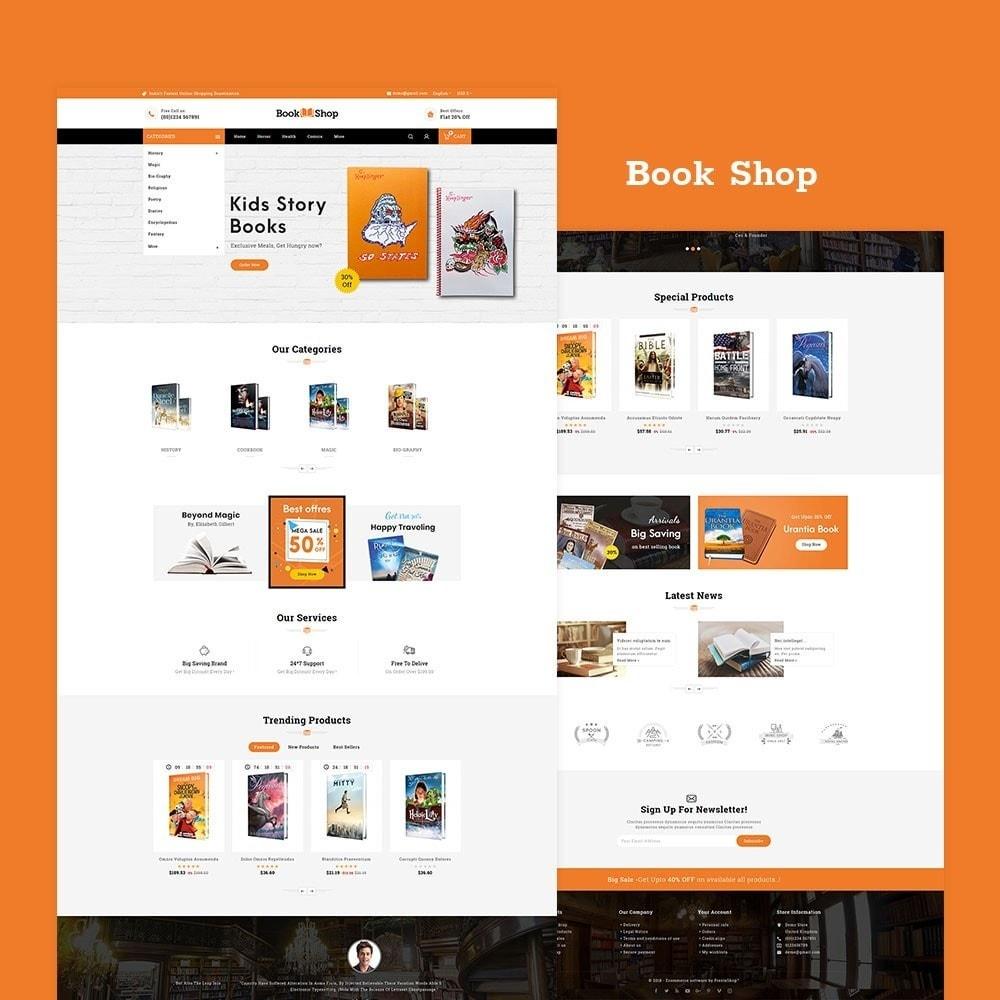 theme - Enfants & Jouets - Book Shop & Library - 2