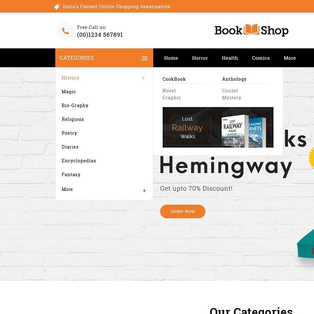 theme - Enfants & Jouets - Book Shop & Library - 8