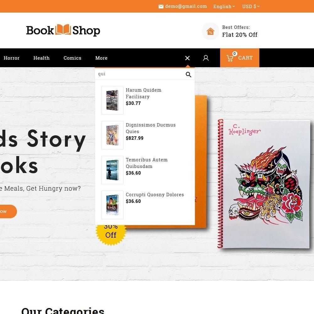 theme - Enfants & Jouets - Book Shop & Library - 9