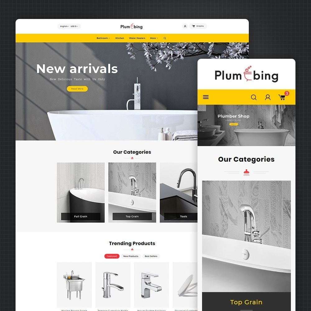 theme - Home & Garden - Plumbing & Hardware - 1