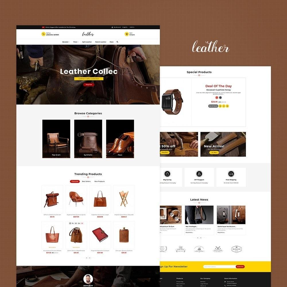 theme - Fashion & Shoes - Leather Smith & Art - 2