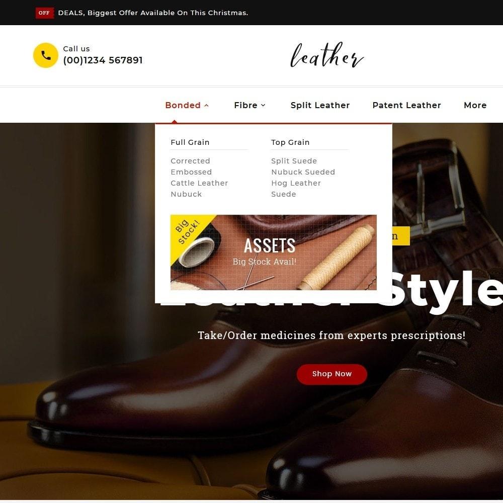 theme - Fashion & Shoes - Leather Smith & Art - 8