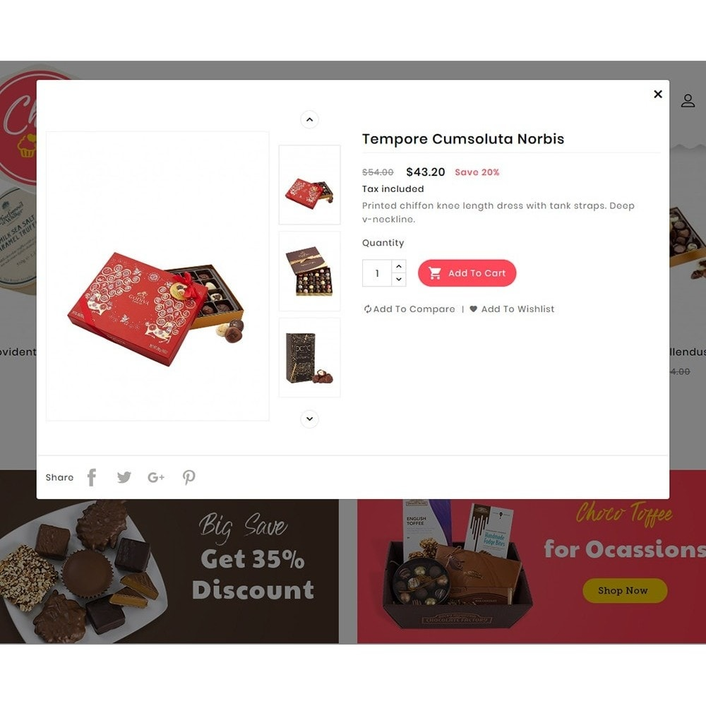 theme - Gifts, Flowers & Celebrations - Chocobar & Sweets - 7