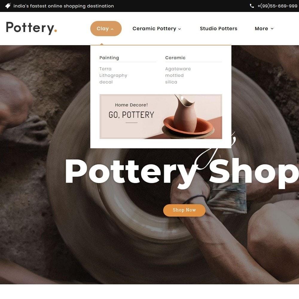 theme - Art & Culture - Pottery & Decor Art - 8