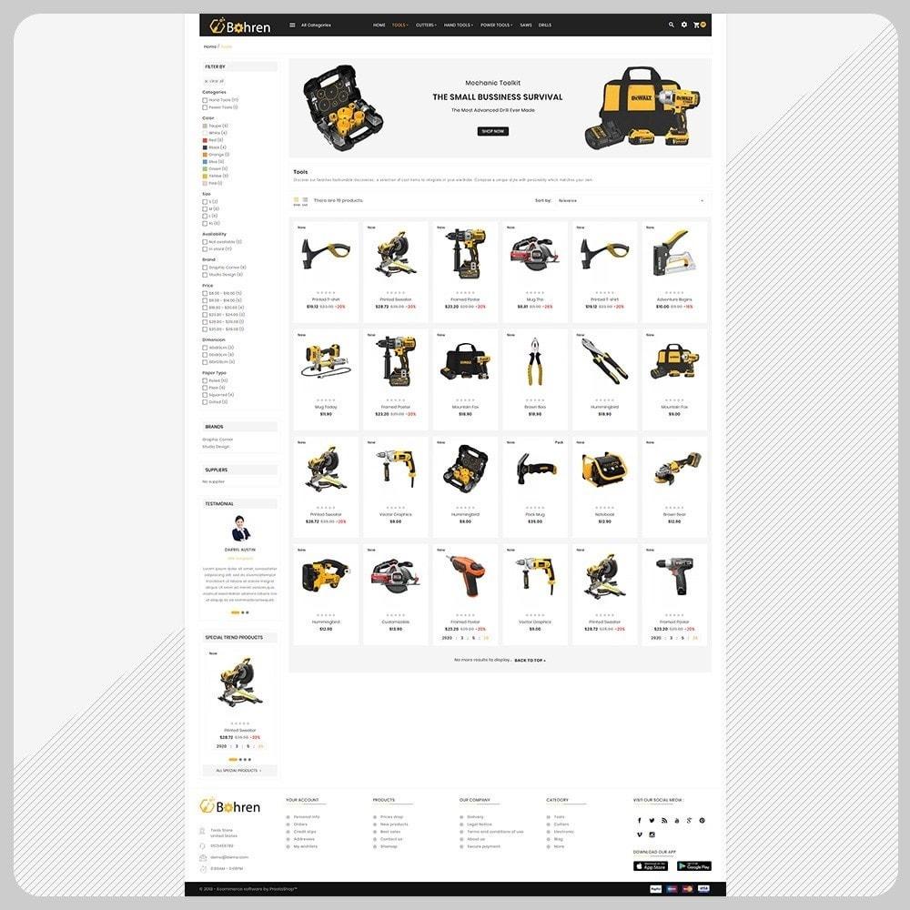 theme - Automotive & Cars - bohren Tools – The Tools Mega Shop - 3