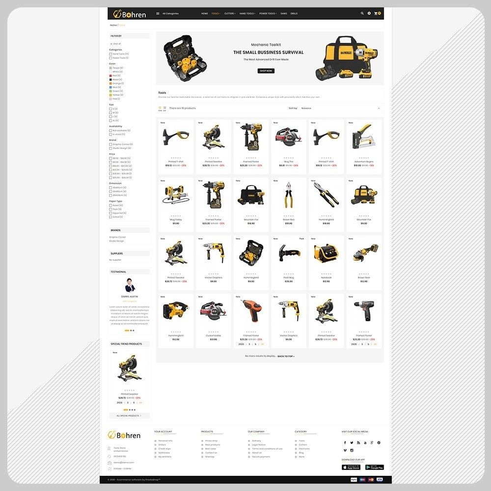 theme - Automotive & Cars - Utensili – The Tools Mega Shop - 3