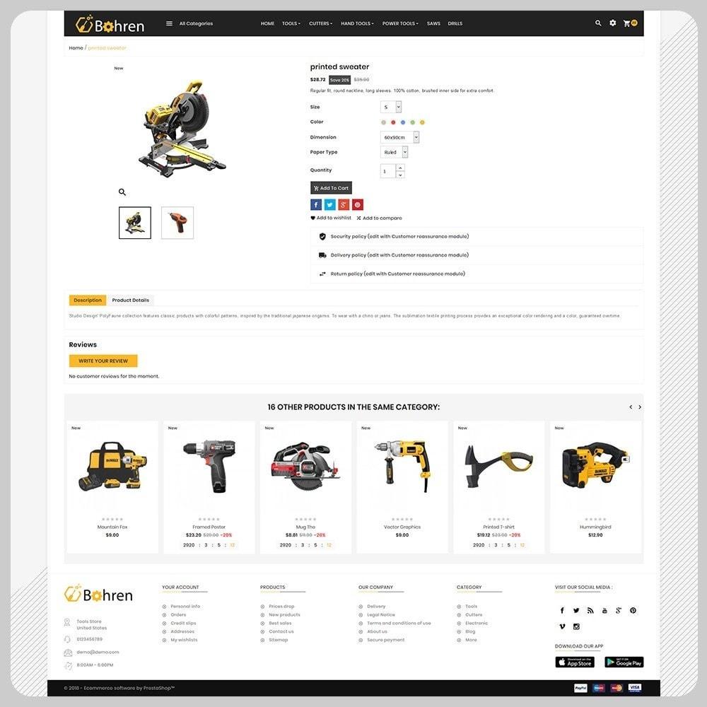 theme - Automotive & Cars - Utensili – The Tools Mega Shop - 4