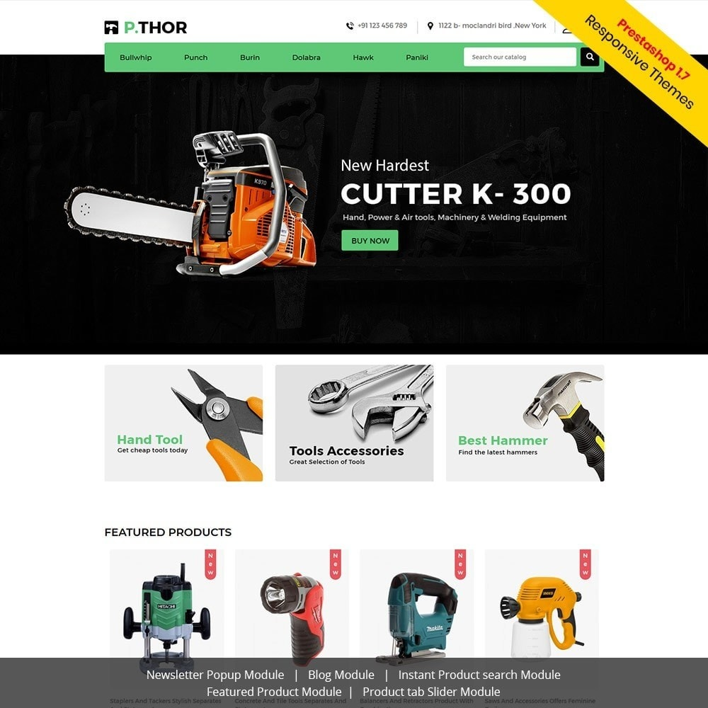 theme - Automotive & Cars - Garden Tool  - Auto Car Store - 1