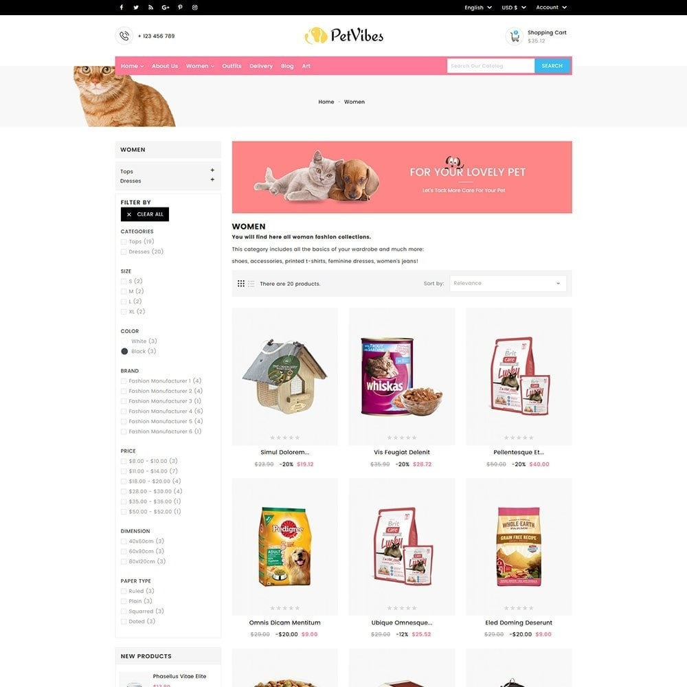 theme - Animals & Pets - Petvibes Pet Store - 5