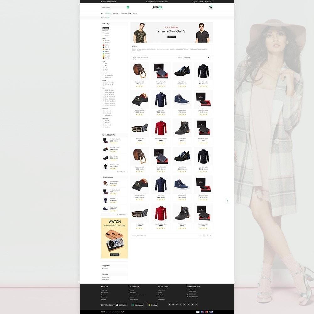 theme - Fashion & Shoes - Moda. - The Fashion Store - 3